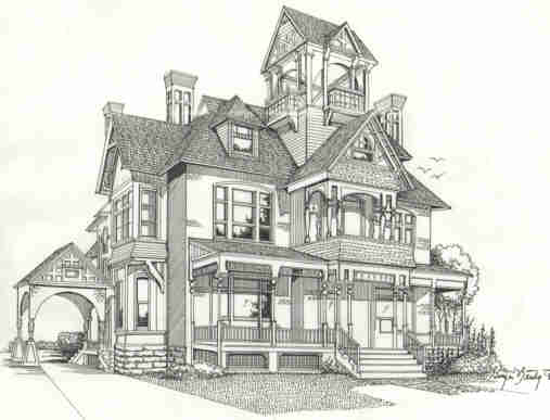 Pencil Drawings Of Mansions | www.imgarcade.com - Online Image Arcade!
